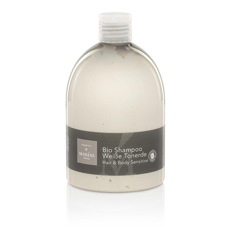 Bio Shampoo Weiße Tonerde Hair & Body Sensitive, 500 ml