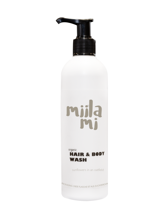 Bio miila mi hair & bodywash, 300 ml
